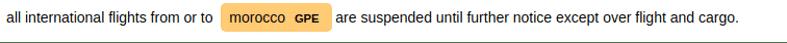 An example sentence